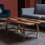 Breadboard and Diamond Willow Coffee Table