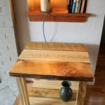 End Table from Wyoming Barn Wood